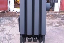 Большая Буржуйка Turbina 1000 для теплиц и сто