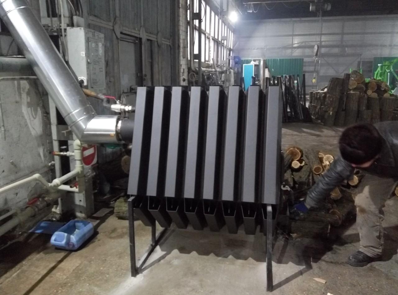промышленные конвекционные котлы на дровах, котлы для промышленности, промышленный котёл, обогрев фермы, отопление цеха