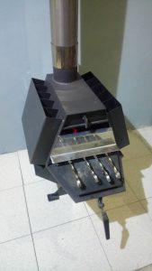 Буржуйка мангал з варочною поверхнею для гаража і для дома